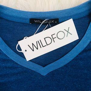 Wildfox Tops - 💙NWT Wildfox blue sweatshirt💙